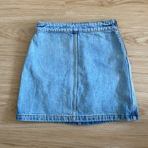 🌎 Aritzia Denim Skirt (NWOT)